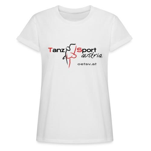 Logo OTSV V1 Internet gif - Frauen Oversize T-Shirt