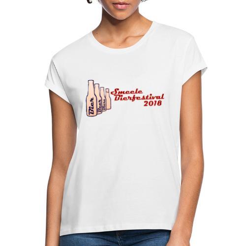 Smeele Bierfestival 2018 - Vrouwen oversize T-shirt