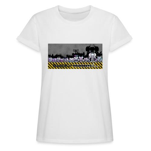 #MarchOfRobots ! LineUp Nr 2 - Dame oversize T-shirt