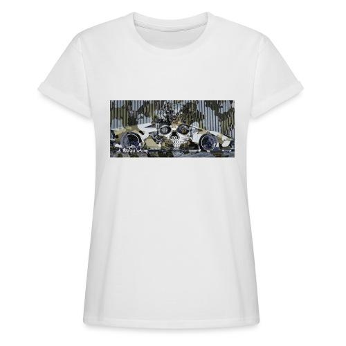calavera style - Women's Oversize T-Shirt