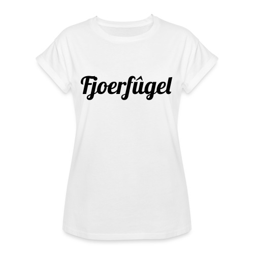 fjoerfugel - Vrouwen oversize T-shirt