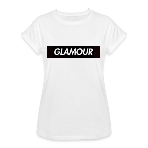 Glamour - Naisten oversized-t-paita
