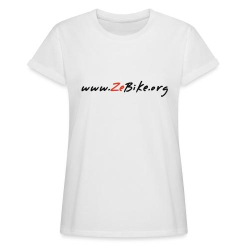 wwwzebikeorg s - T-shirt oversize Femme