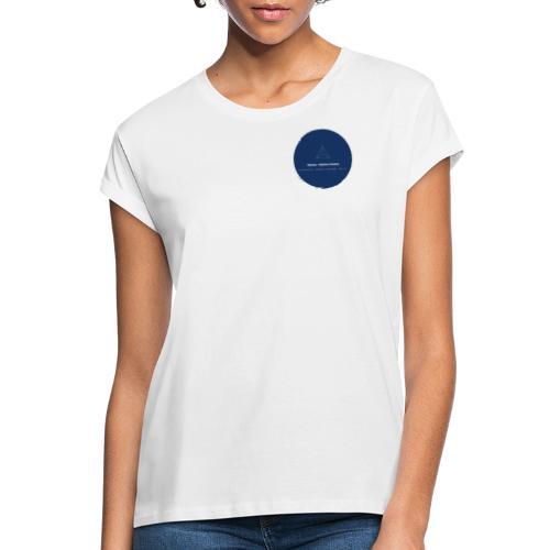 Triforce blend (blue) - Frauen Oversize T-Shirt