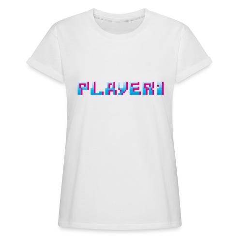 Arcade Game - Player 1 - Women's Oversize T-Shirt