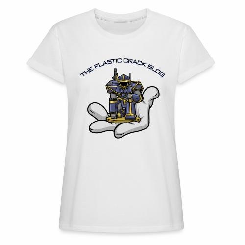 Plastic Crack Blog - Women's Oversize T-Shirt