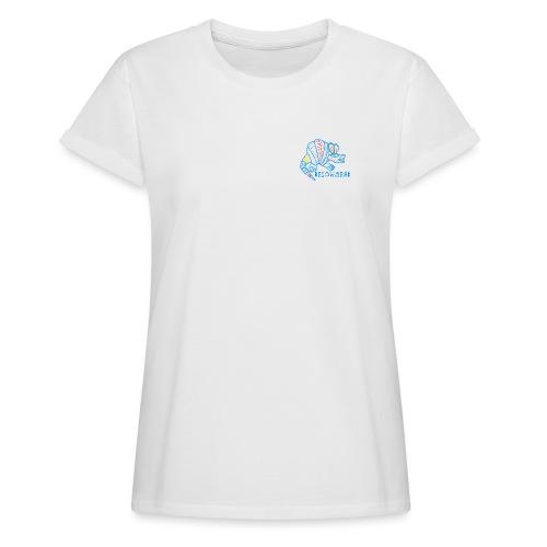 Alebrije Armadillo Blue - Frauen Oversize T-Shirt