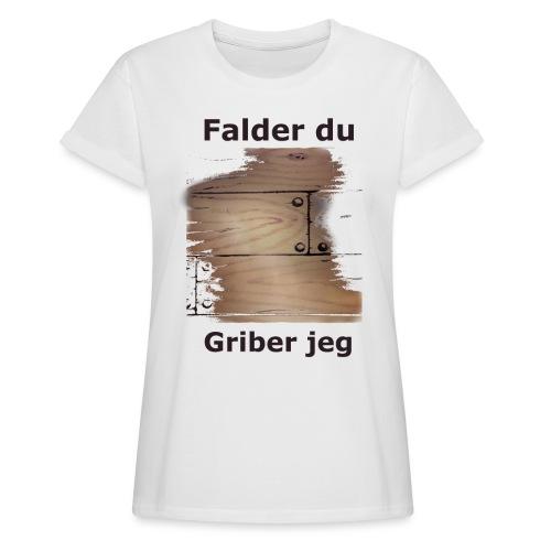 Gulvet Griber - Dame oversize T-shirt