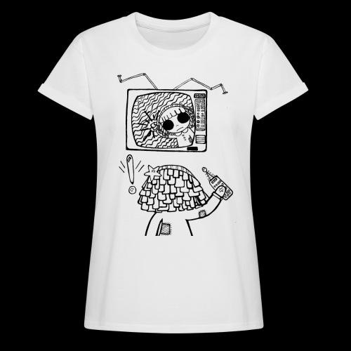 dehidre 1 - Camiseta holgada de mujer