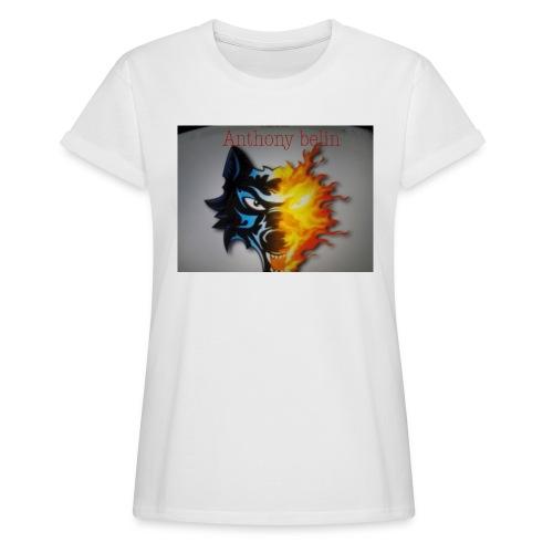 E44A4C12 938F 44EE 9F52 2551729D828D - T-shirt oversize Femme