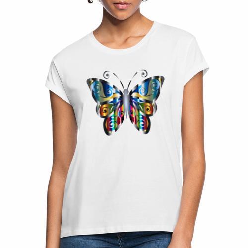 butterfly - Koszulka damska oversize