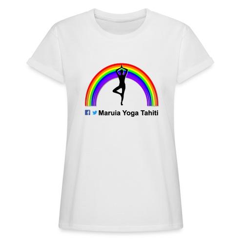 Logo de Maruia Yoga Tahiti - T-shirt oversize Femme