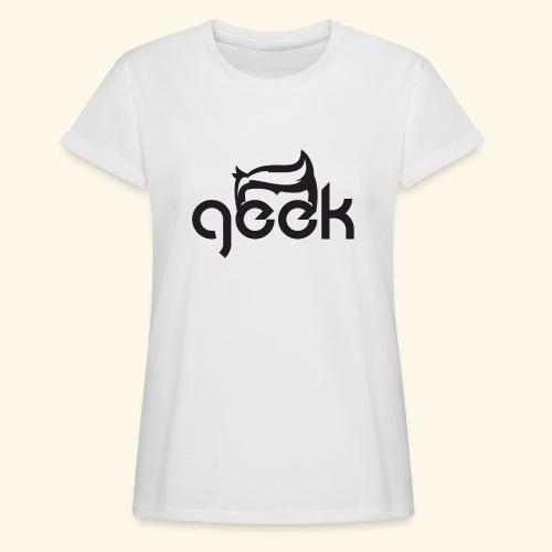 GEEK LOGO - Maglietta ampia da donna