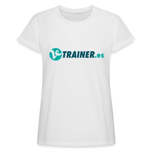 VTRAINER.es - Camiseta holgada de mujer