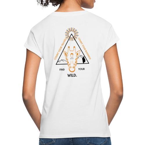 Find your WILD. - Women's Oversize T-Shirt