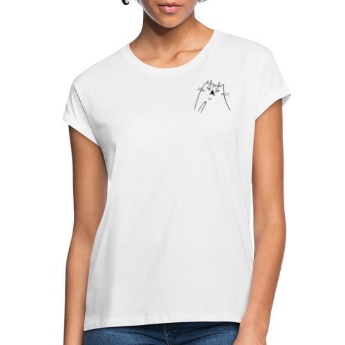 Shocked Cat - Frauen Oversize T-Shirt