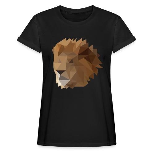 Löwe - Frauen Oversize T-Shirt
