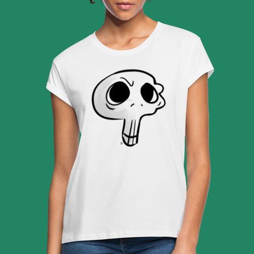 Skull - T-shirt oversize Femme