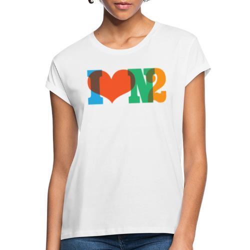 I LOVE N2 Summer Social Colours - Women's Oversize T-Shirt