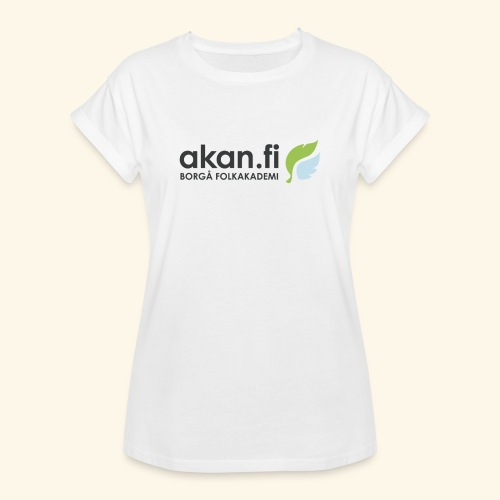 Akan Black - Oversize-T-shirt dam