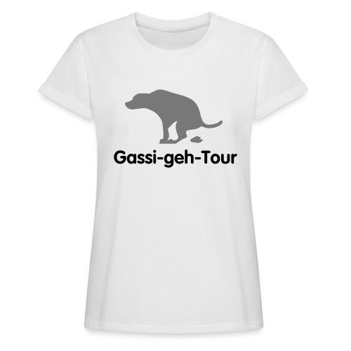 gassigehen - Frauen Oversize T-Shirt
