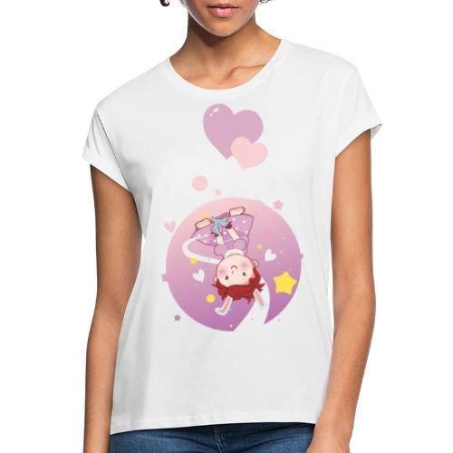 Süße Umstandsmode Schwangerschaft T-Shirt Mädchen - Frauen Oversize T-Shirt