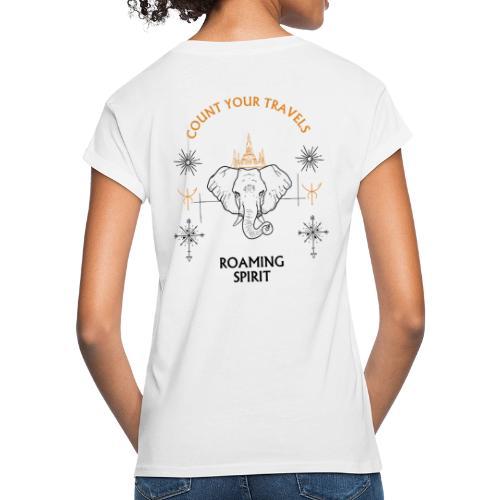 Roaming Spirit. - Vrouwen oversize T-shirt