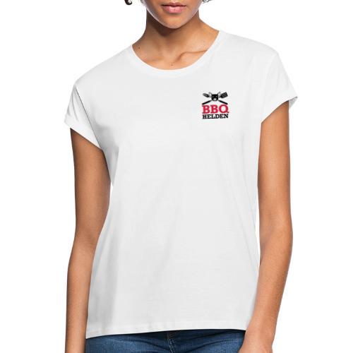 logo klein - Vrouwen oversize T-shirt