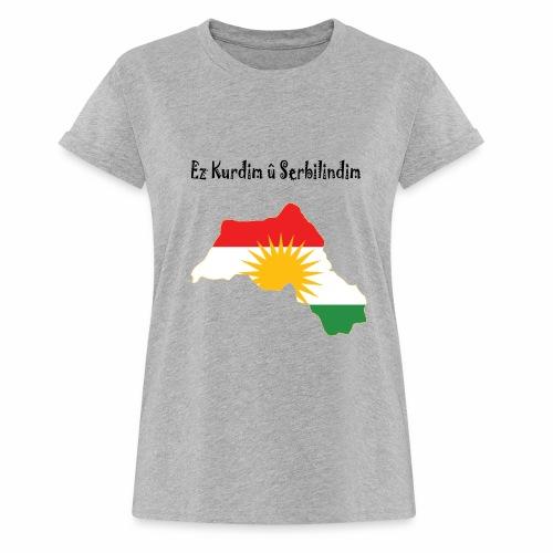 Ez kurdim u serbilindim - Oversize-T-shirt dam
