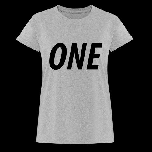 WEAREONE x LETTERS - Vrouwen oversize T-shirt