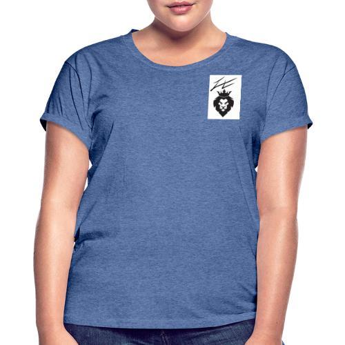Lion - T-shirt oversize Femme