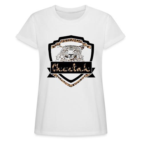 Cheetah Shield - Women's Oversize T-Shirt
