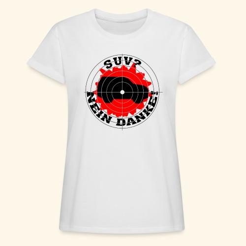 SUV? Nein danke! - Frauen Oversize T-Shirt