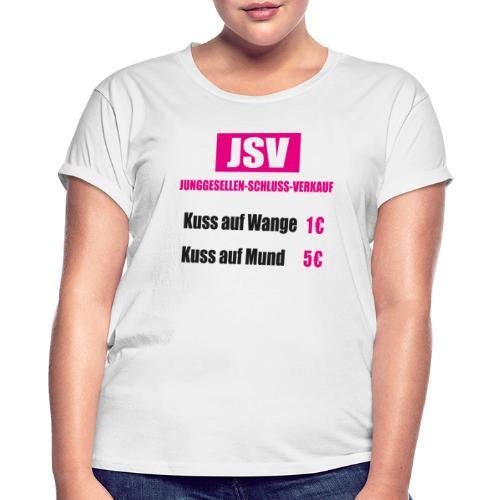 Junggesellen Schlussverkauf JGA - Frauen Oversize T-Shirt
