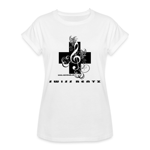 Swiss Beatz Logo with L - Frauen Oversize T-Shirt
