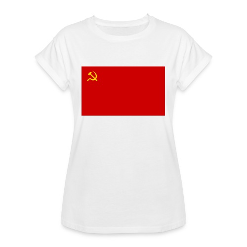 Eipä kestä - Naisten oversized-t-paita