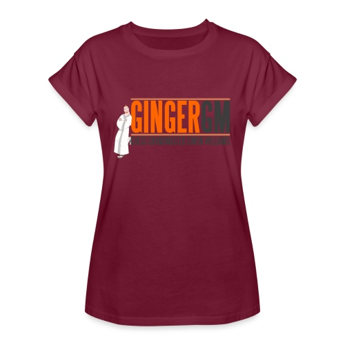 Ginger GM Logo - Women's Oversize T-Shirt