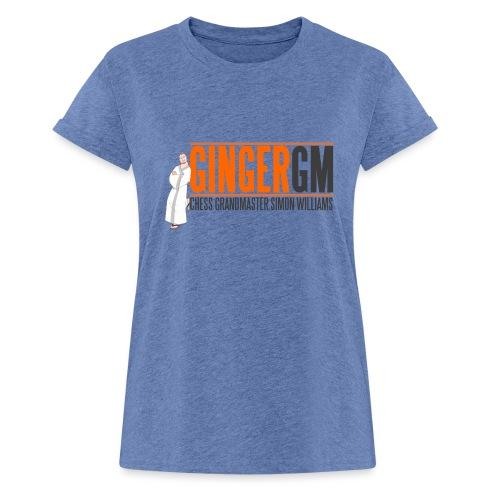 Ginger GM Logo - Women's Oversize T-Shirt