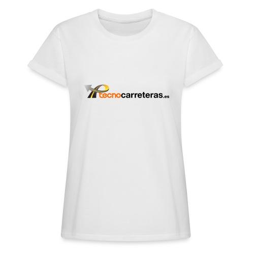 Tecnocarreteras - Camiseta holgada de mujer