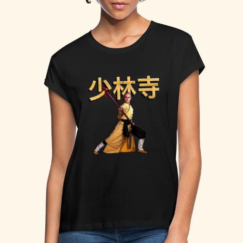 Shaolin Warrior Monk - Vrouwen oversize T-shirt