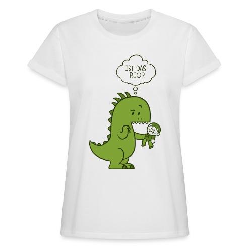 Bio-Dinosaurier - Frauen Oversize T-Shirt