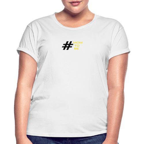 mom to be - gelb - Frauen Oversize T-Shirt