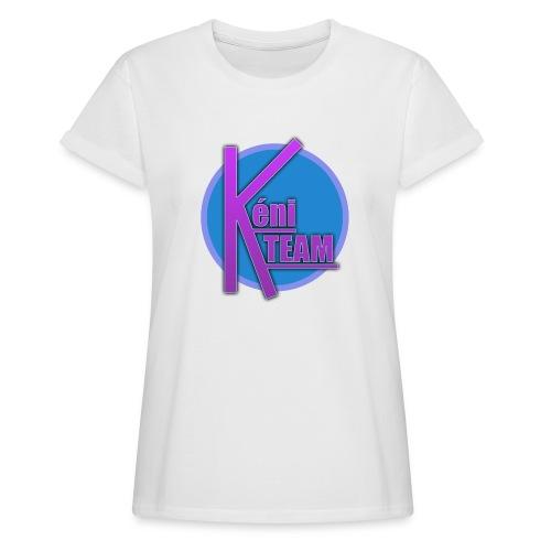 LOGO TEAM - T-shirt oversize Femme
