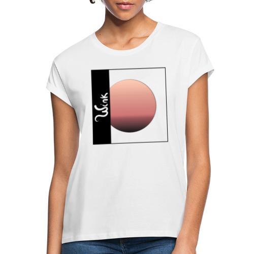 Sunset Wink - T-shirt oversize Femme