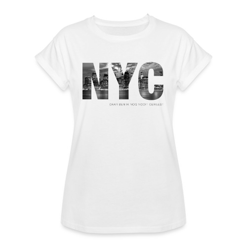 NYC - Vrouwen oversize T-shirt