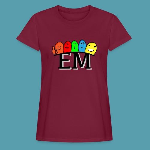 EM - Naisten oversized-t-paita