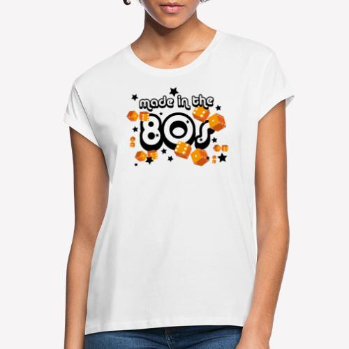 Made in the 80s – Orange - Frauen Oversize T-Shirt