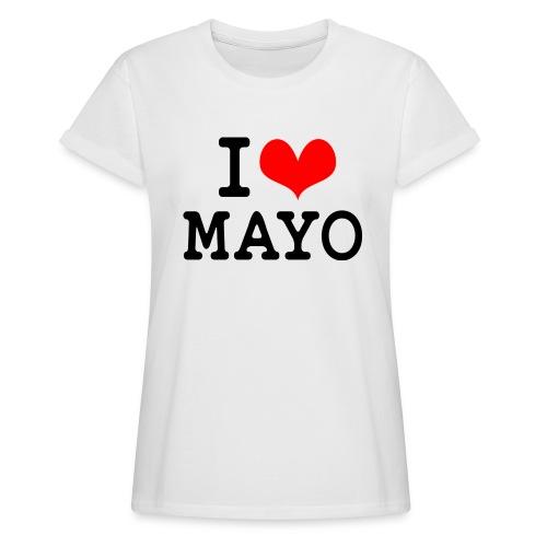 I Love Mayo - Women's Oversize T-Shirt