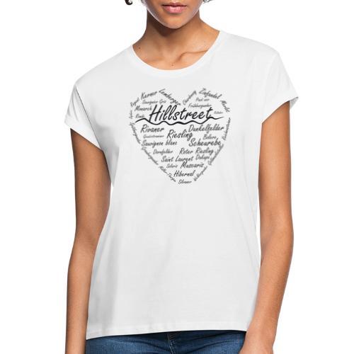 winelove - Frauen Oversize T-Shirt