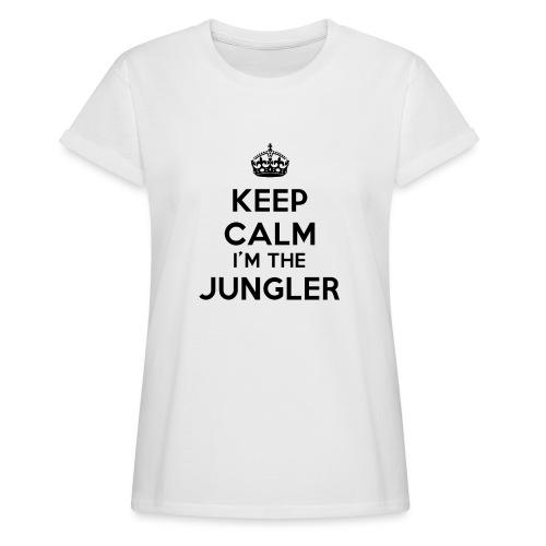 Keep calm I'm the Jungler - T-shirt oversize Femme